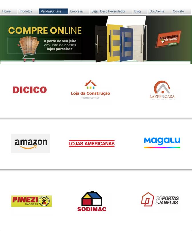 Compre os produtos MAPAF nas principais lojas online e receba no conforto de sua casa!