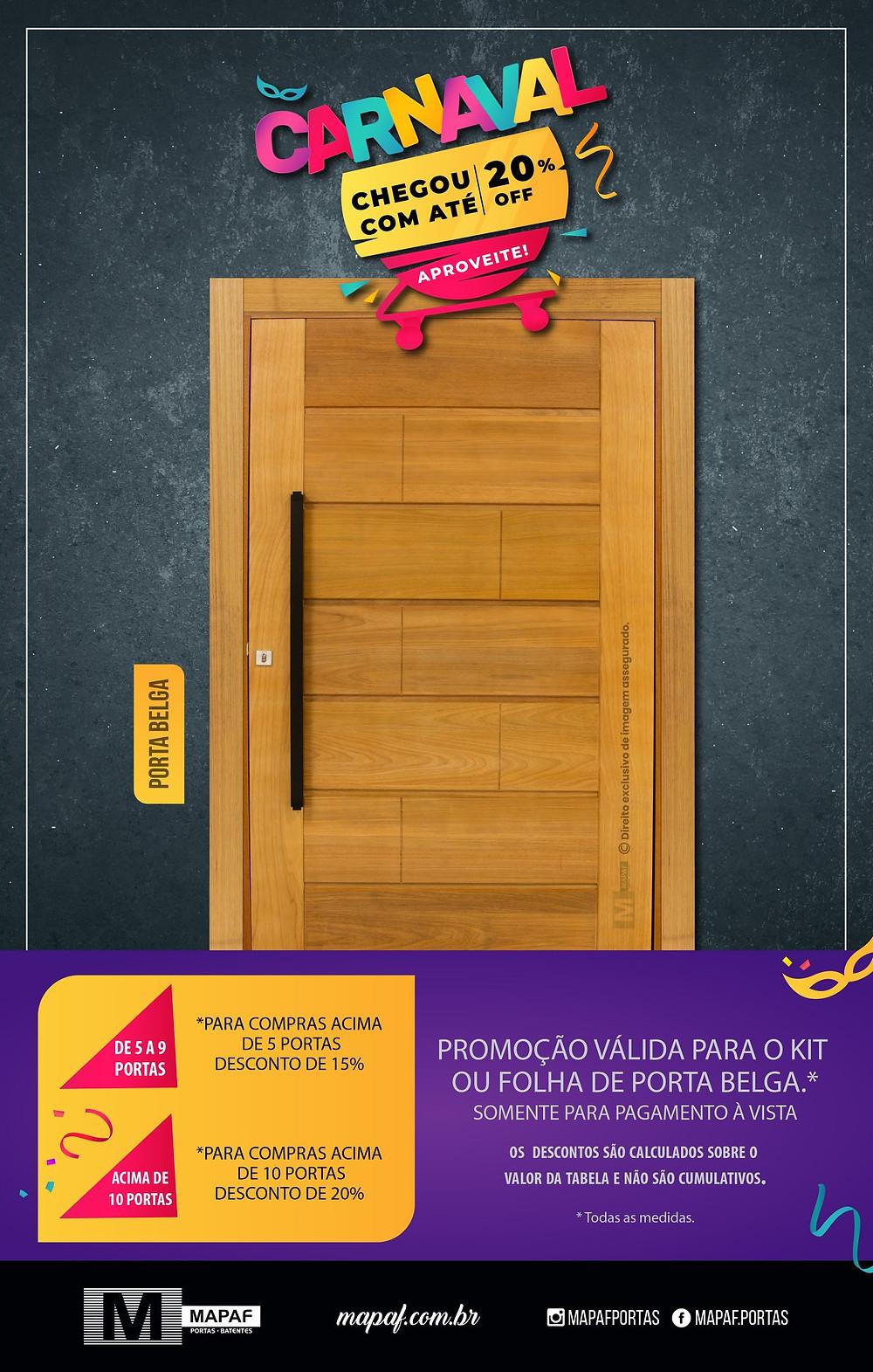 Promoção de Carnaval MAPAF!