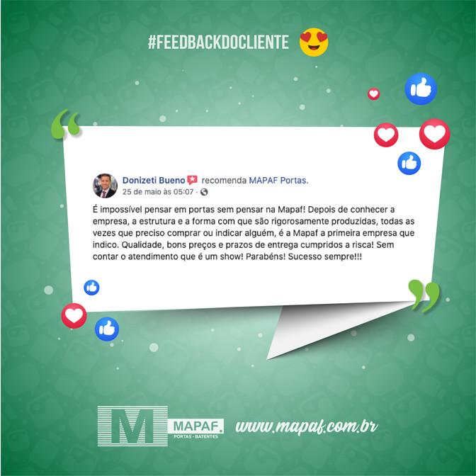 #feedbackdocliente