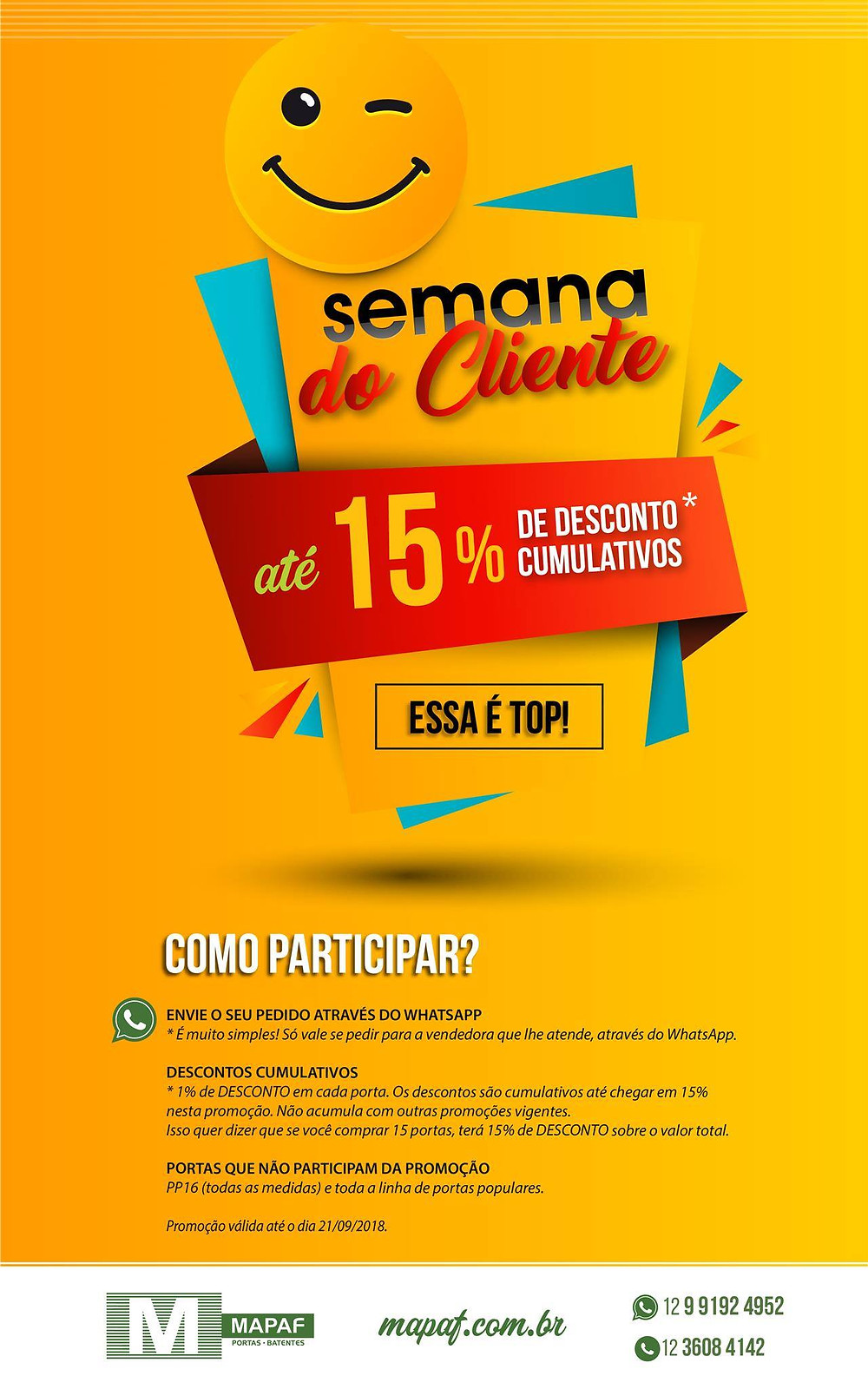 Semana do Cliente MAPAF