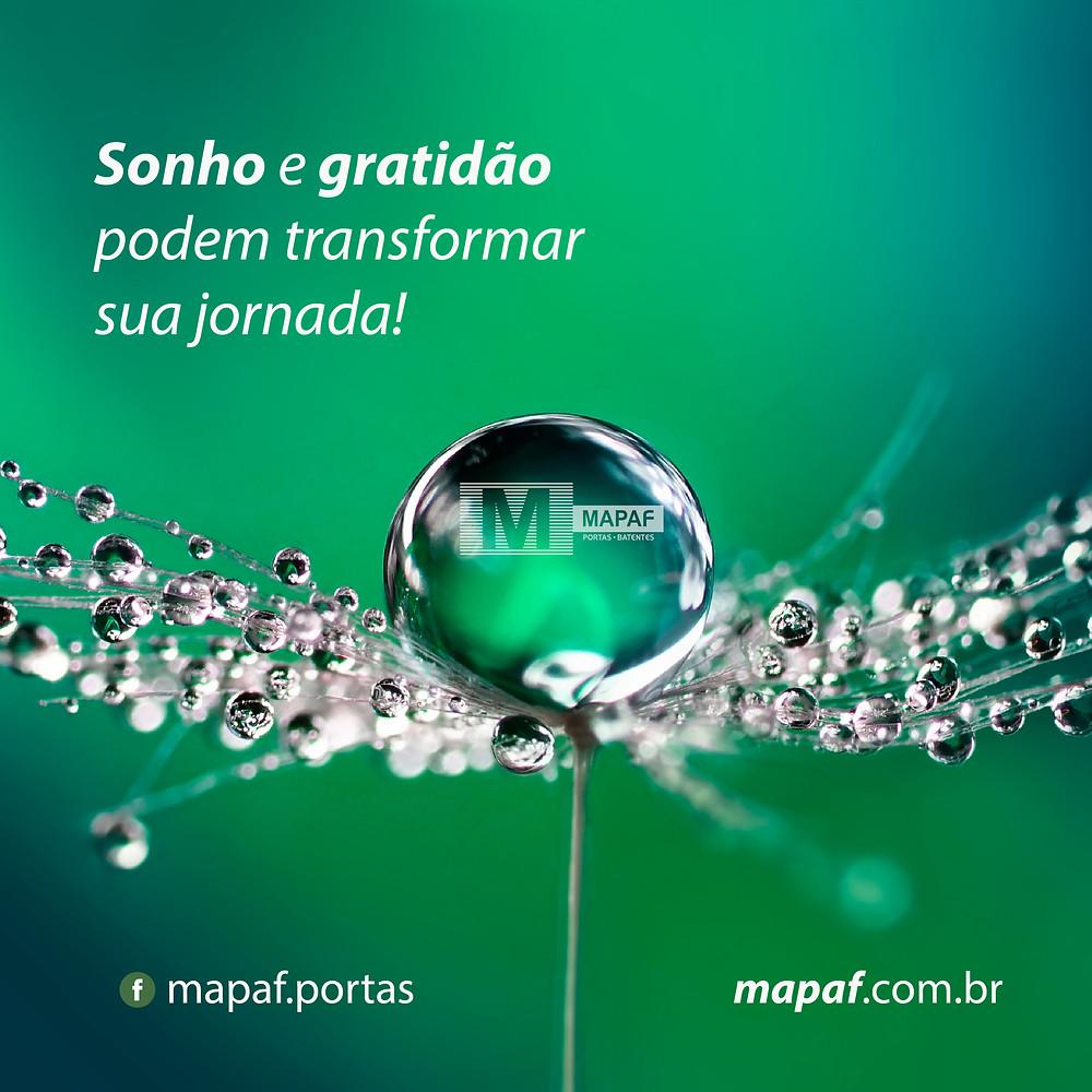 Sonho e Gratidão - MAPAF
