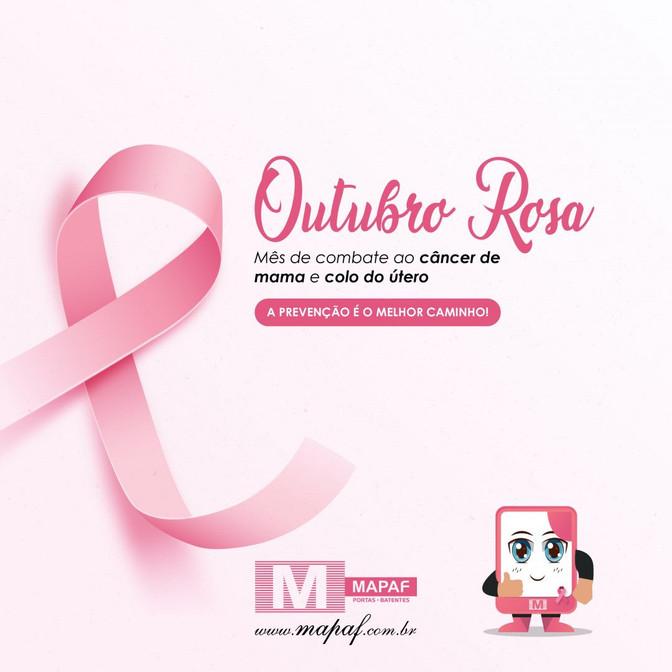 Outubro rosa pede engajamento de todos!