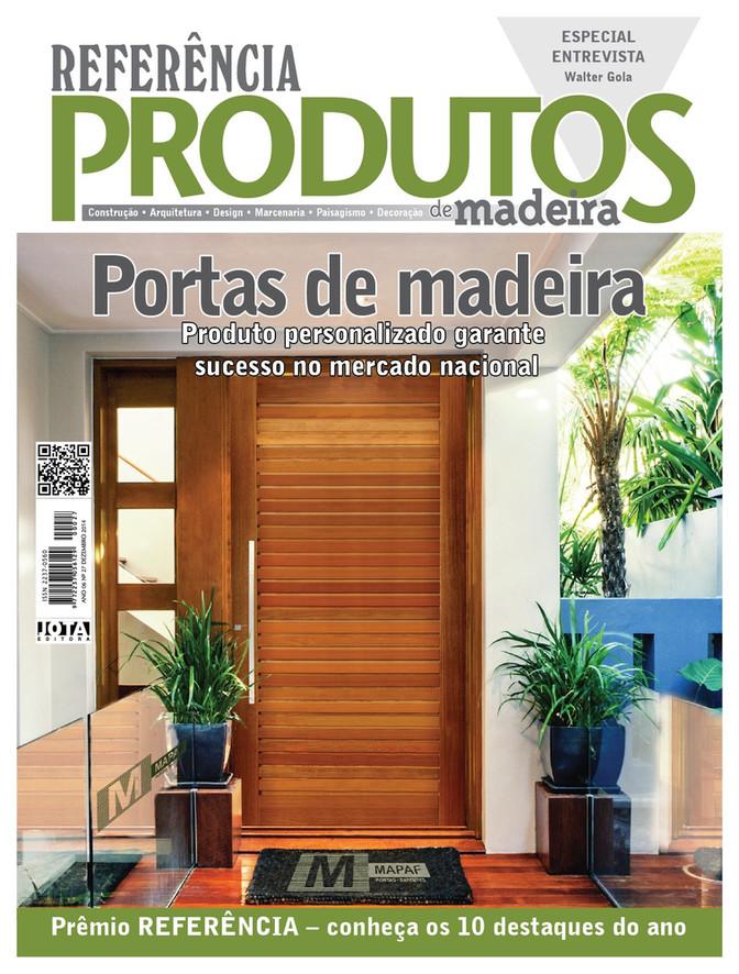 A Porta Suíça MAPAF virou capa de Revista