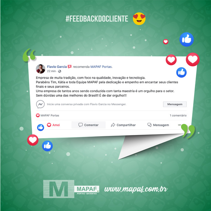 #feedbackdocliente