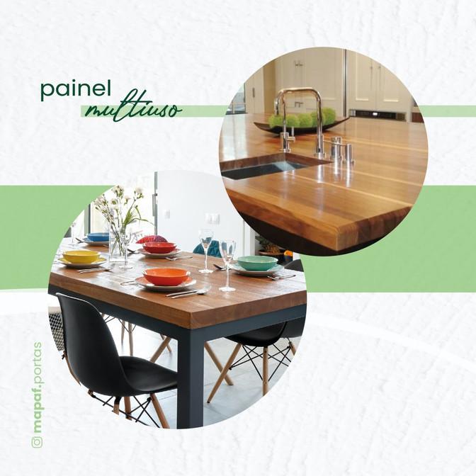 Painéis de madeira maciça decoram e fazem a diferença quando se juntam a sua criatividade!