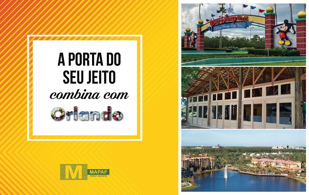 Porta MAPAF combina com Orlando