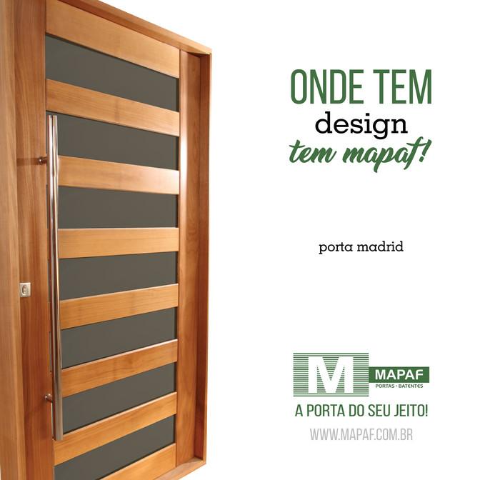 Porta Madrid | O design