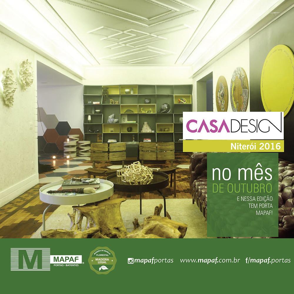 Casa Design Niterói 2016 - MAPAF