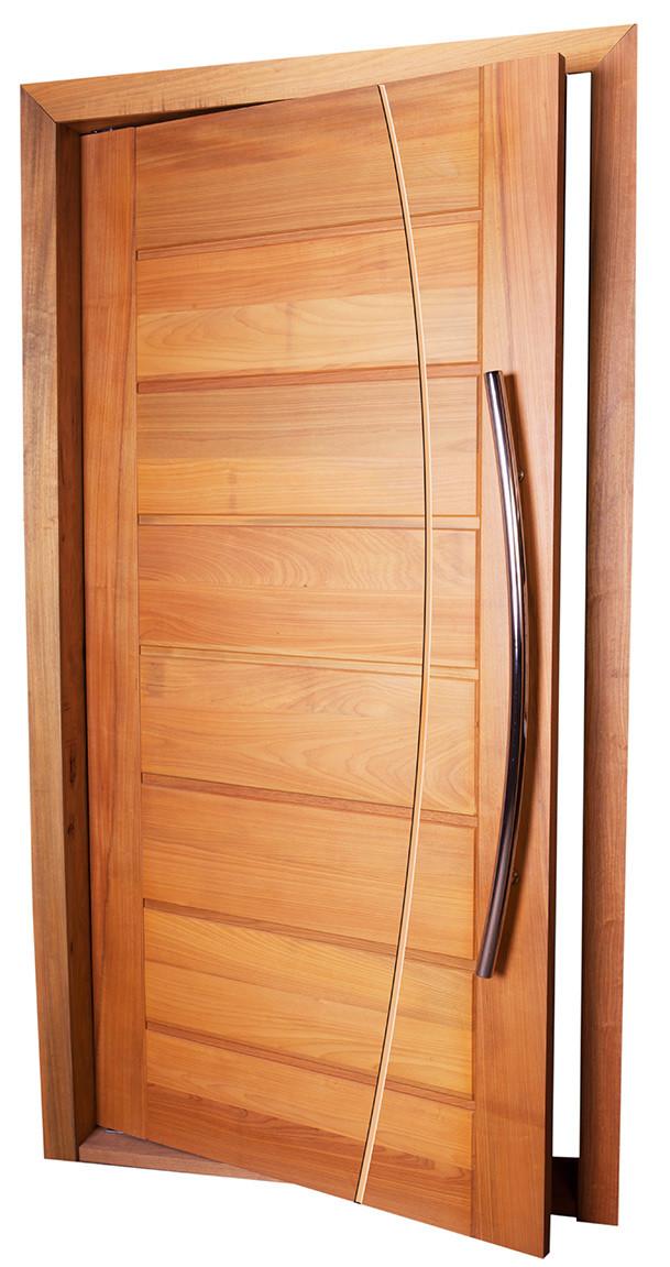 Porta de Madeira BBB Frisada MAPAF