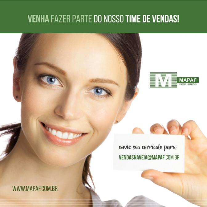 VENHA FAZER PARTE DO NOSSO TIME DE VENDAS!