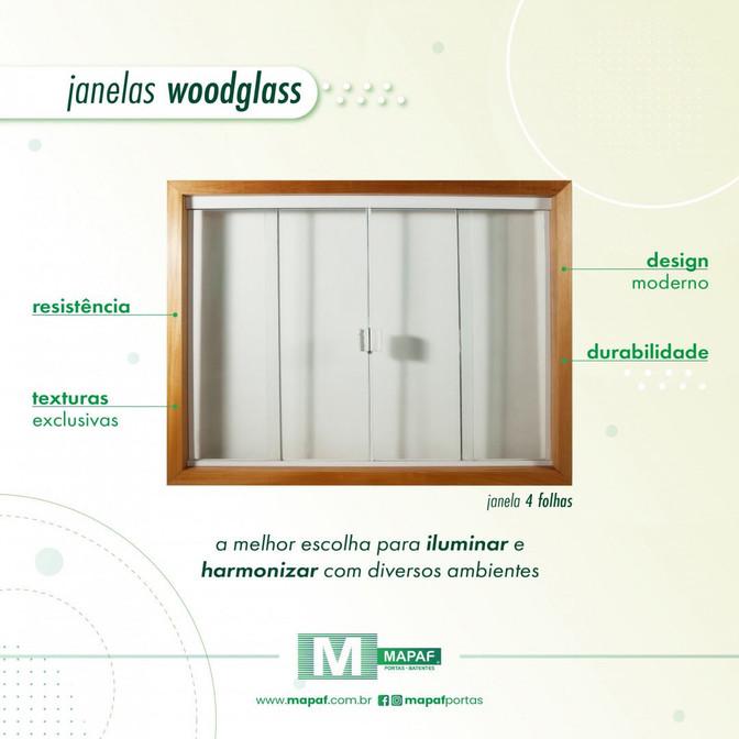 Para iluminar e harmonizar com sua criatividade: Janelas MAPAF!
