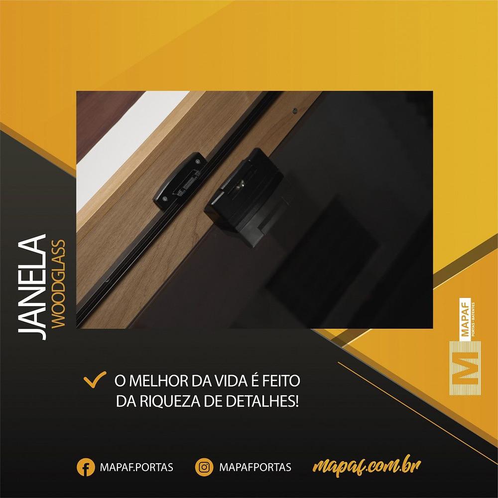 Linha WoodGlass MAPAF | Janelas