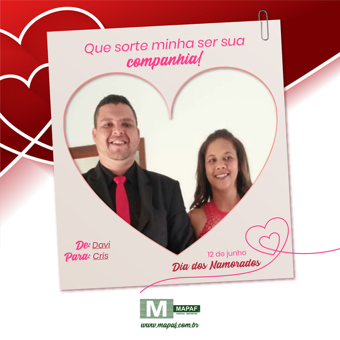 Dia de celebrar o Amor e o Encontro | 12 de junho - Dia dos Namorados