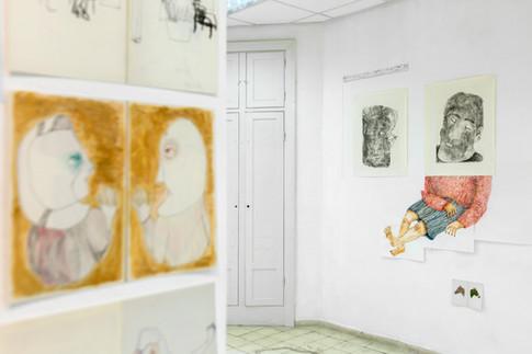 מתוך התערוכה ״The Voice from another room״ של הדס גלבוע