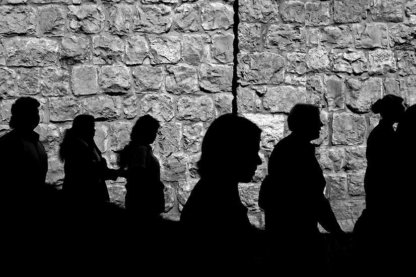 Pilgrims in Jerusalem