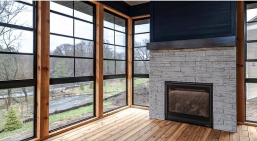 McDonald Stone Fireplace