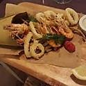 Calamari, praw, courgette fried with aioli sauce