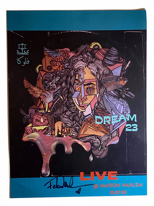 Dream 23 Poster (Signed)