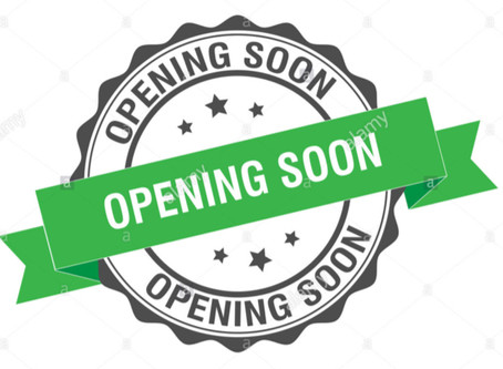 Re-opening Soon