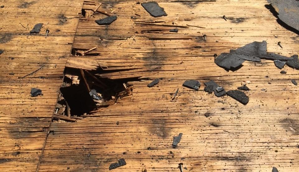 Damage Decking
