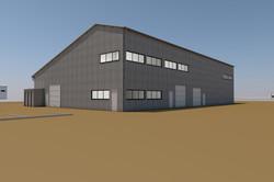 Bâtiment industriel SCO à LEZIGNAN