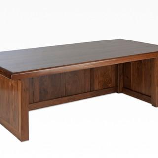 The McClain Executive Desk in Black Walnut