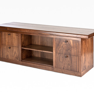 The McClain Executive Suite Credenza in Black Walnut