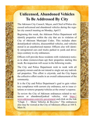 Ordinance Violations