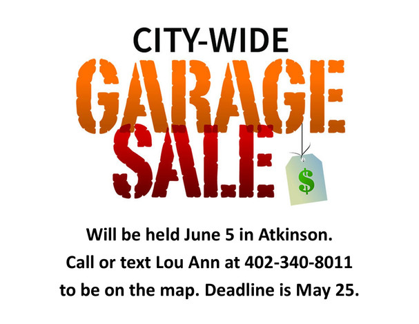 Citywide Garage Sales
