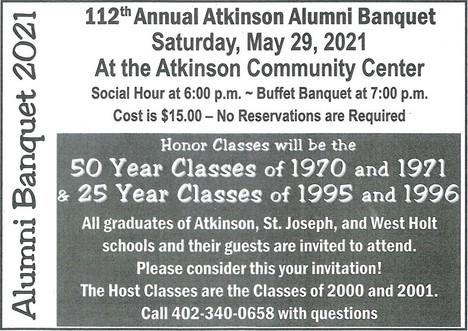 Alumni Banquet 2021