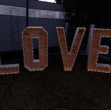Bild XXL-Leuchtbuchstaben