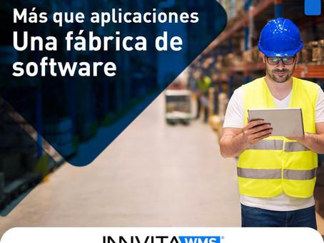 Más que aplicaciones, una fábrica de software