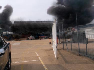 Loading Gantry Fire - BP (Outside 2 Smok