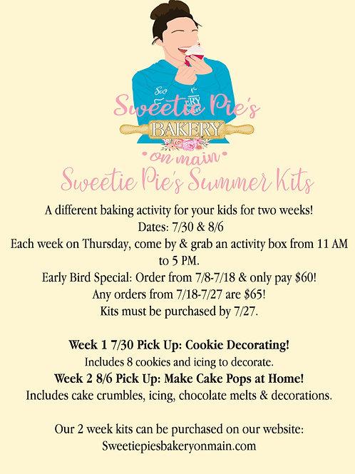 Summer Activity Kits -2 Weeks