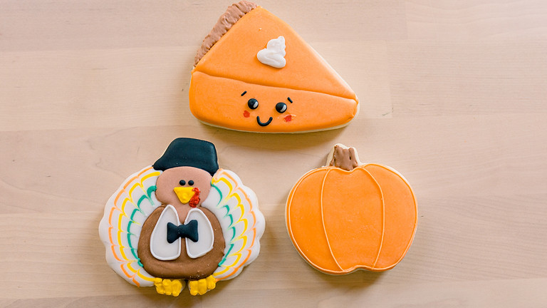 Kids Fall Cookie Decorating Class