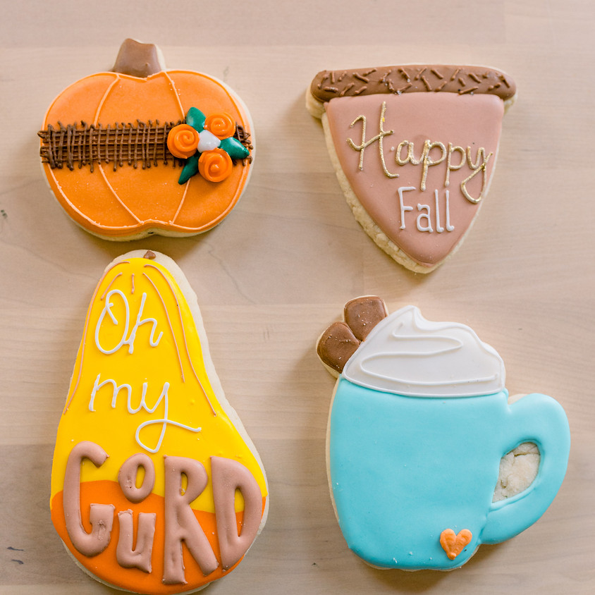 Adults Only (18 +) Fall Cookie Decorating Class