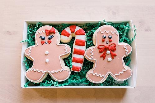 Decorated Sugar Cookies 3 Pack