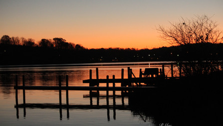 Sunset upon the return