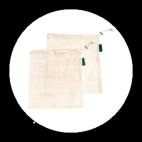 Reusable Mesh Produce Bags - 2 Pack