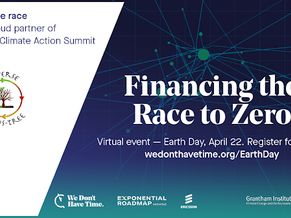 Financing the Race to Zero - Exponential Climate Action Summit