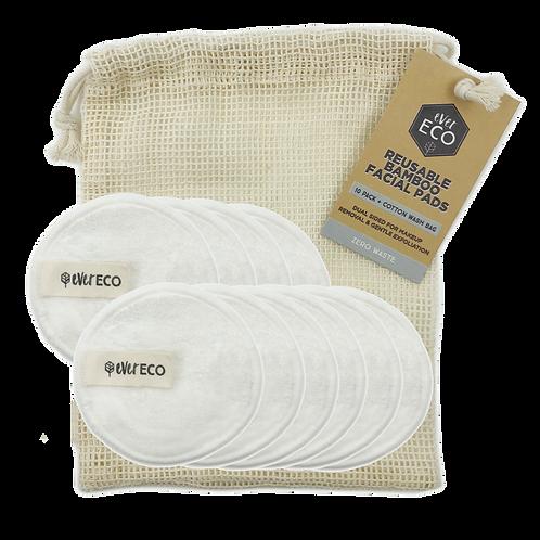 Reusable Bamboo Makeup Remover Pads