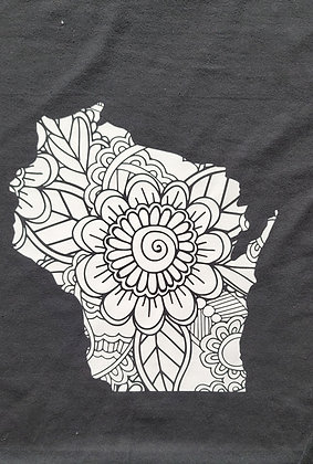 Floral State Shirt