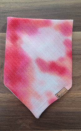 Pink Tie-Dyed Knit