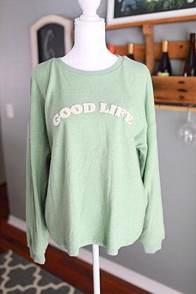 Sage Good Life Crewneck