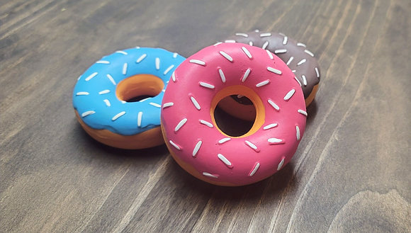 Latex Donut Toy 3-Pack