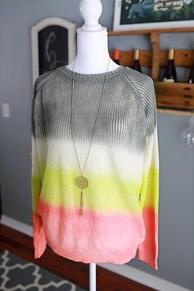 Neon Dreams Sweater