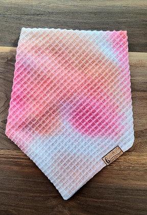 Blush Tie-Dyed Waffle