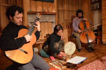 Tomas Greco, Melissa Vargas and Felipe Jose
