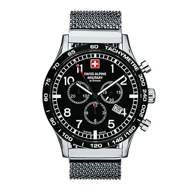 Swiss Alpine Military 1746.9137SAM Montre Hommes Chronographe