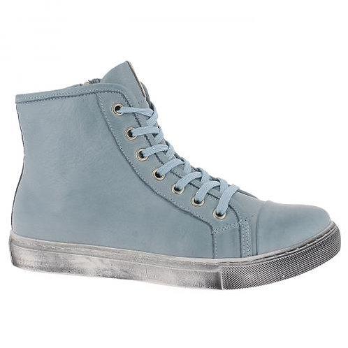 Andrea Conti Schnürboots, bleu